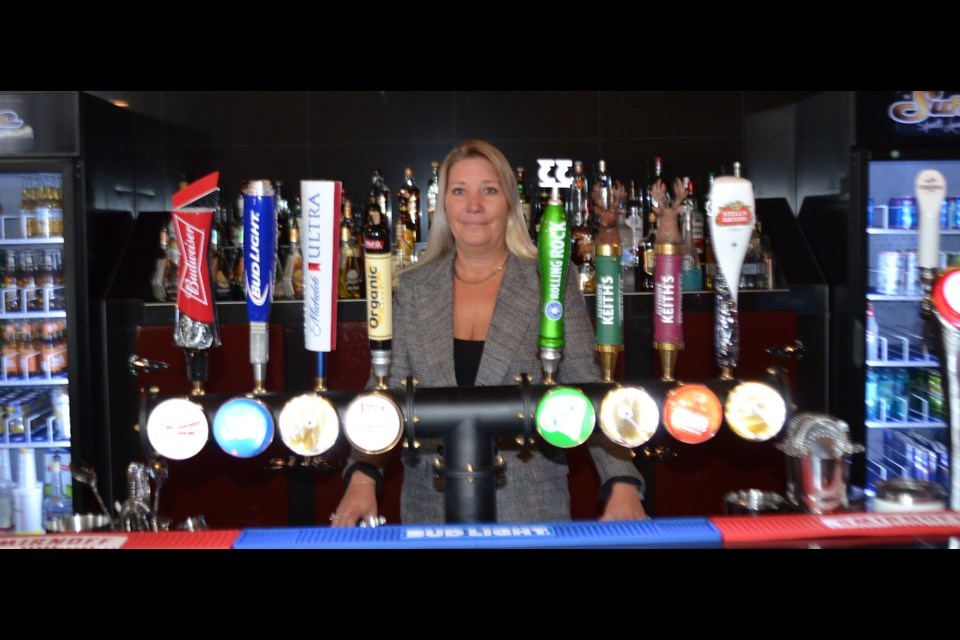 Kim Pellerin-Donovan is the general manager of The Surge Sports Lounge in Timmins. The city's new hot spot opened its doors on Aug. 27. Wayne Snider for TimminsToday