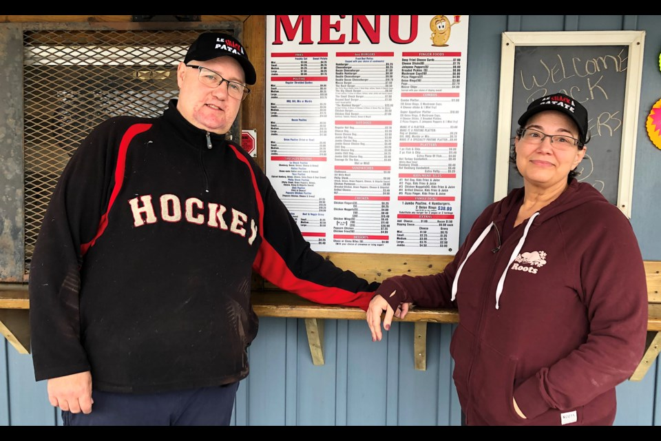 Richard and Tina Tremblay are celebrating 10 years in business at Le Shack A Patate.