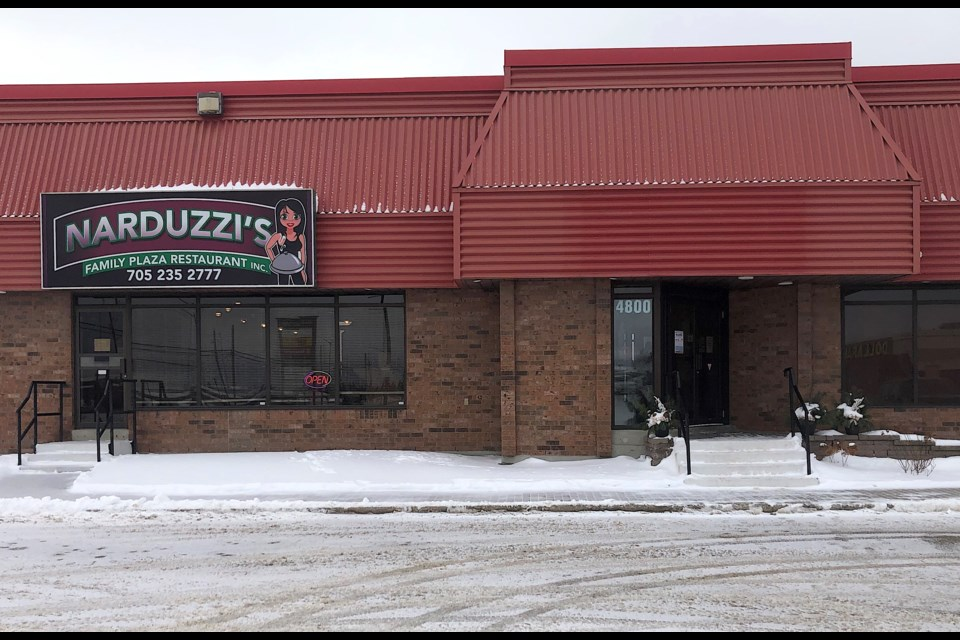 Narduzzi's Family Plaza Restaurant is open for takeout and delivery during lockdown. It specializes in comfort food.