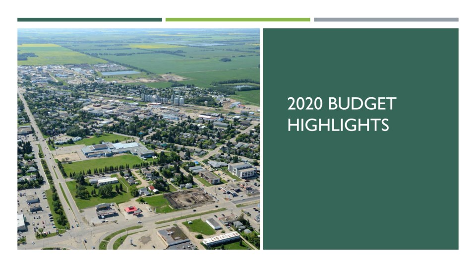 2020 Town of Westlock Budget Highlights-1