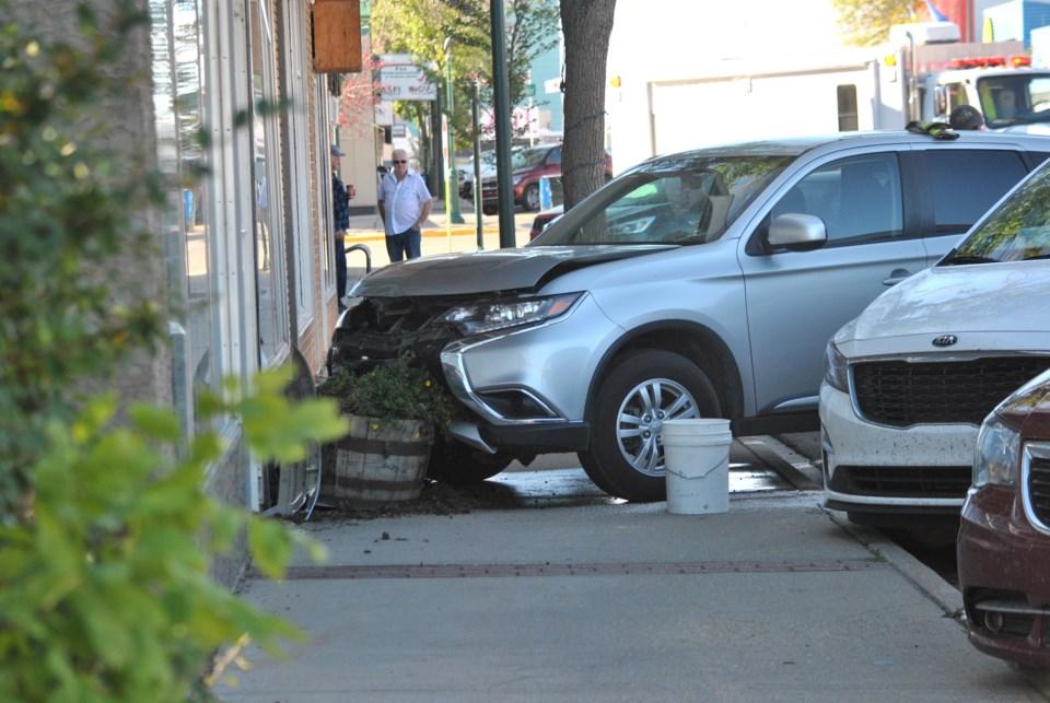 Accident Main Street