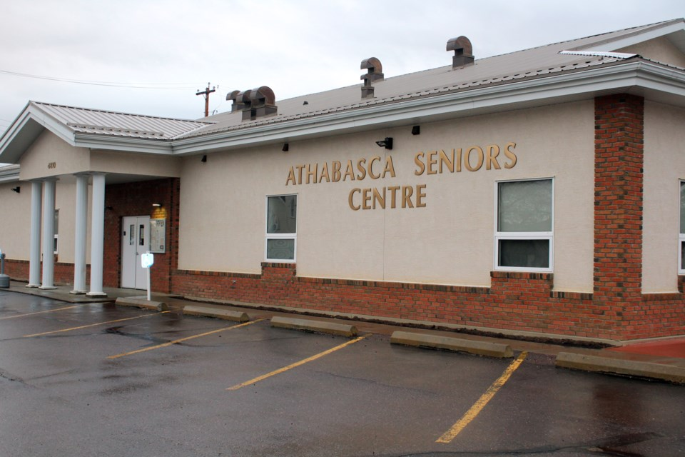 The Athabasca Senior's Drop-in Centre was a busy place before the pandemic with activities for members, the public and a regular music jam, like this one Jan. 5, put on by the Whispering Hills Country Music Association. The hall has been dark since the start of the pandemic, but now they are slowly opening back up to low activity groups.