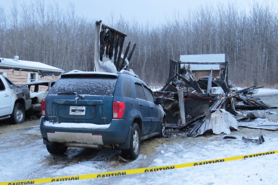 Mario Bernier, 55, of Regina, faces three charges relating to the death of Melissa Lyne of Boyle, after a mobile home fire in the village Dec. 18, 2019.  File