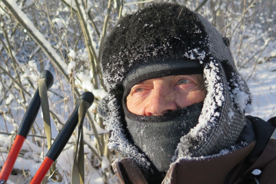 Albert Karvonen is a retired teacher and principal who has been making wildlife documentaries for 30 years. He goes skiing around his property every winter, averaging five kilometres a day, and at 90 years old he is encouraging others to take advantage of the grandeur of nature to help with mental and physical health.