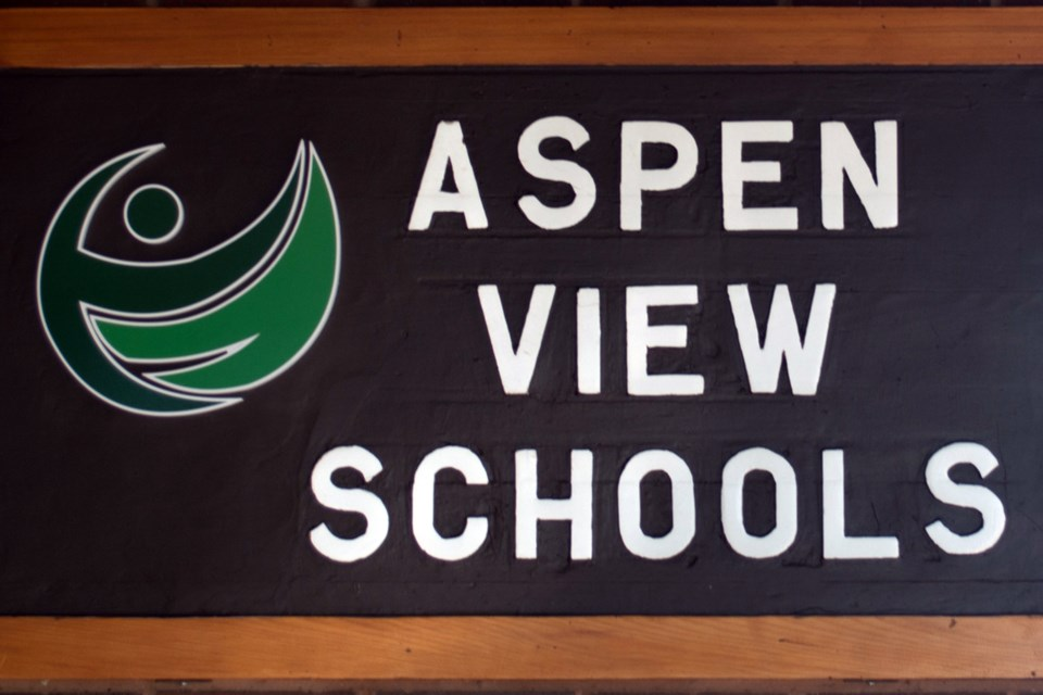 Aspen View School sign_WEB