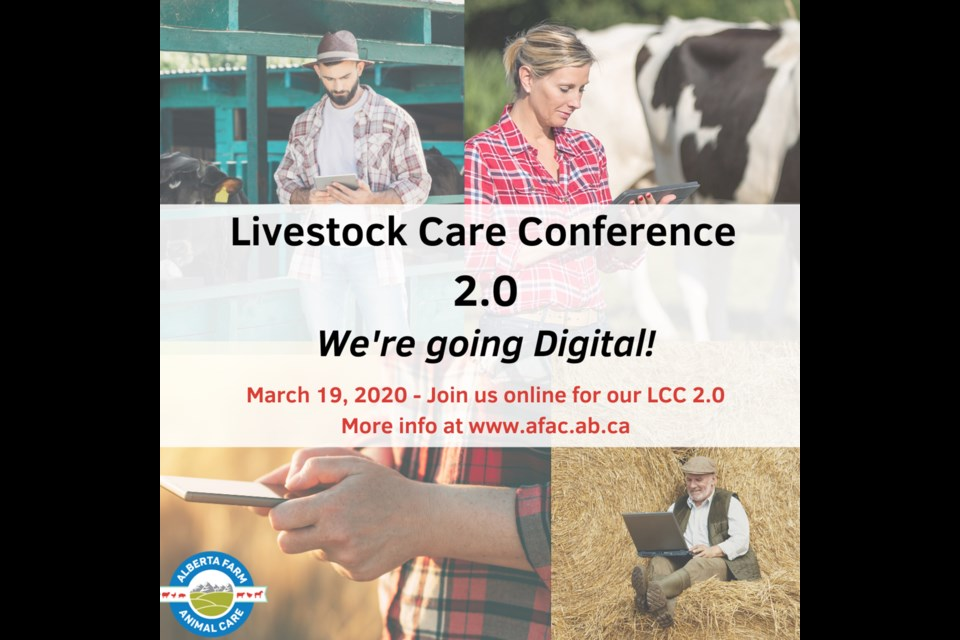 Reacting to the restrictions of gatherings over 50 people, the Livestock Care Conference is now online.