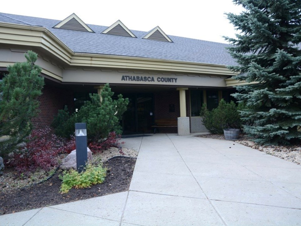 Athabasca County office web
