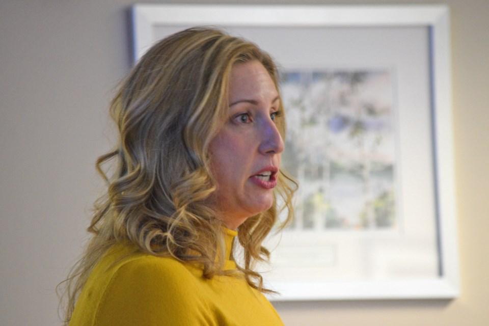 communications coordinator Kat Hueggenberg