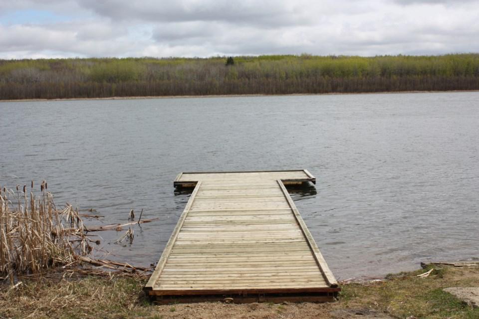 Jackfish Lake dock web
