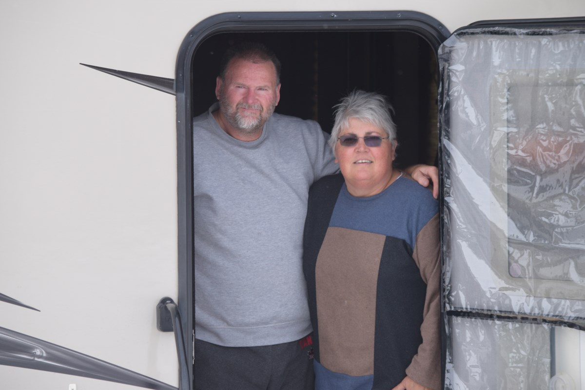 Barrhead couple highlights importance of self-isolation