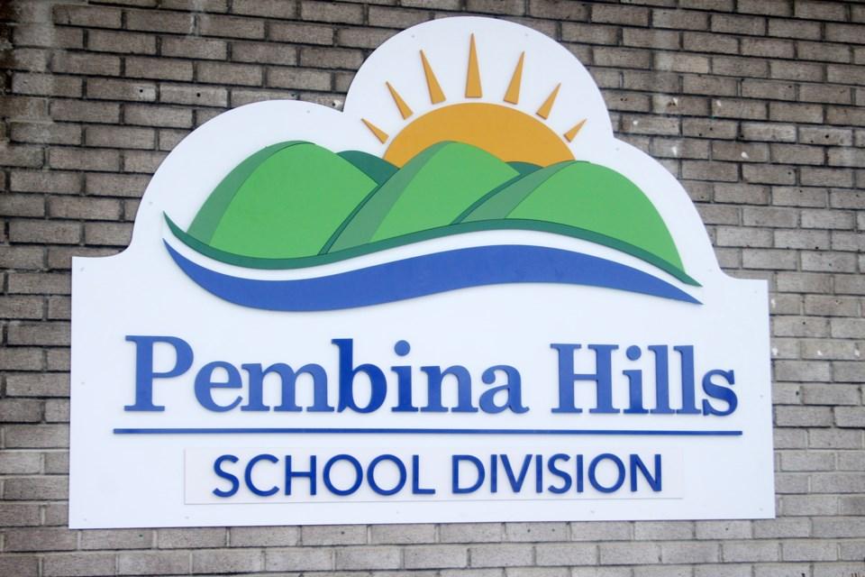 New Pembina HIlls Sign