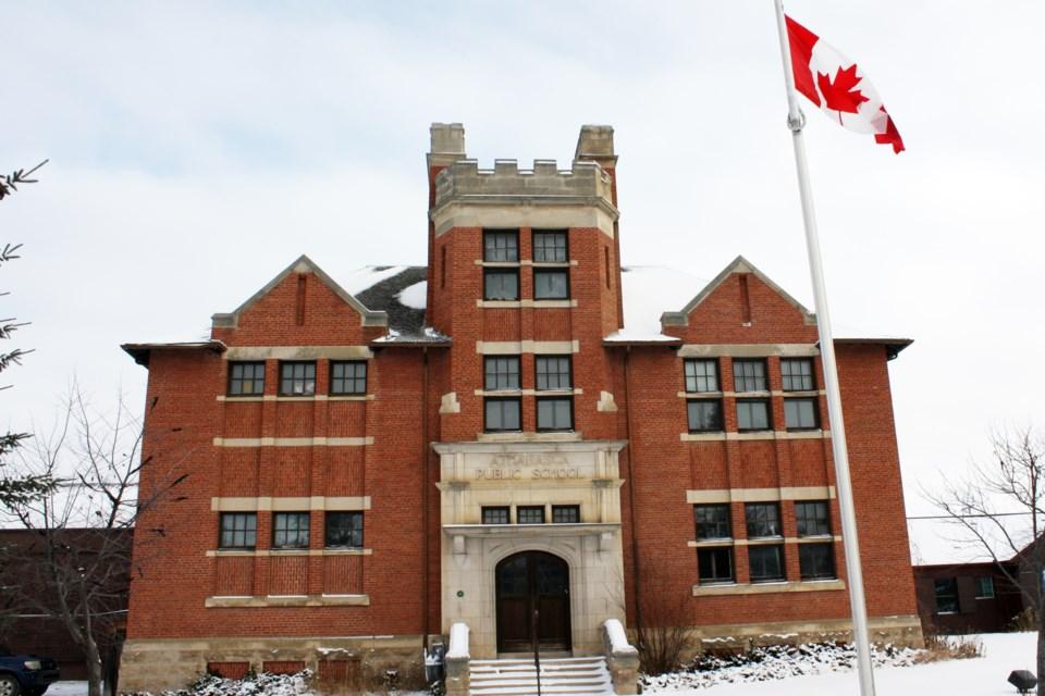 Old Brick School ext winter