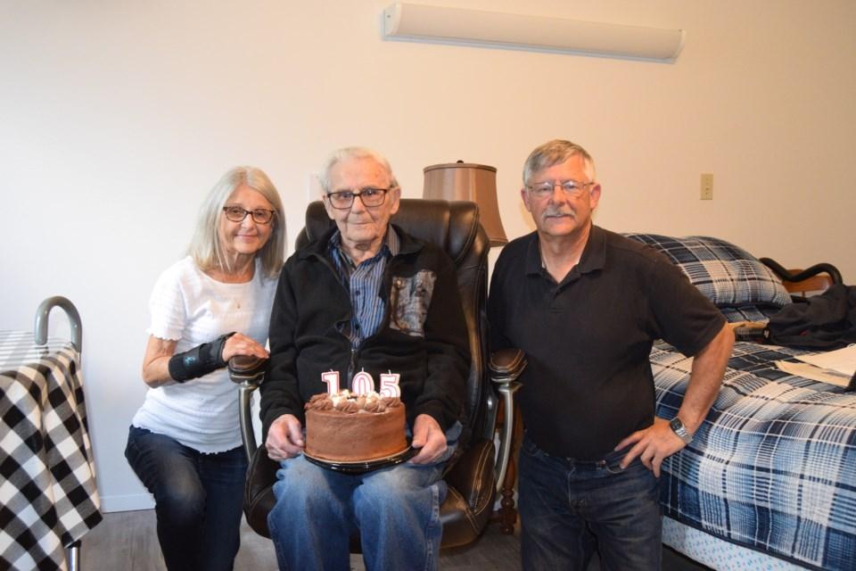 Otto Enders 105th birthday copy