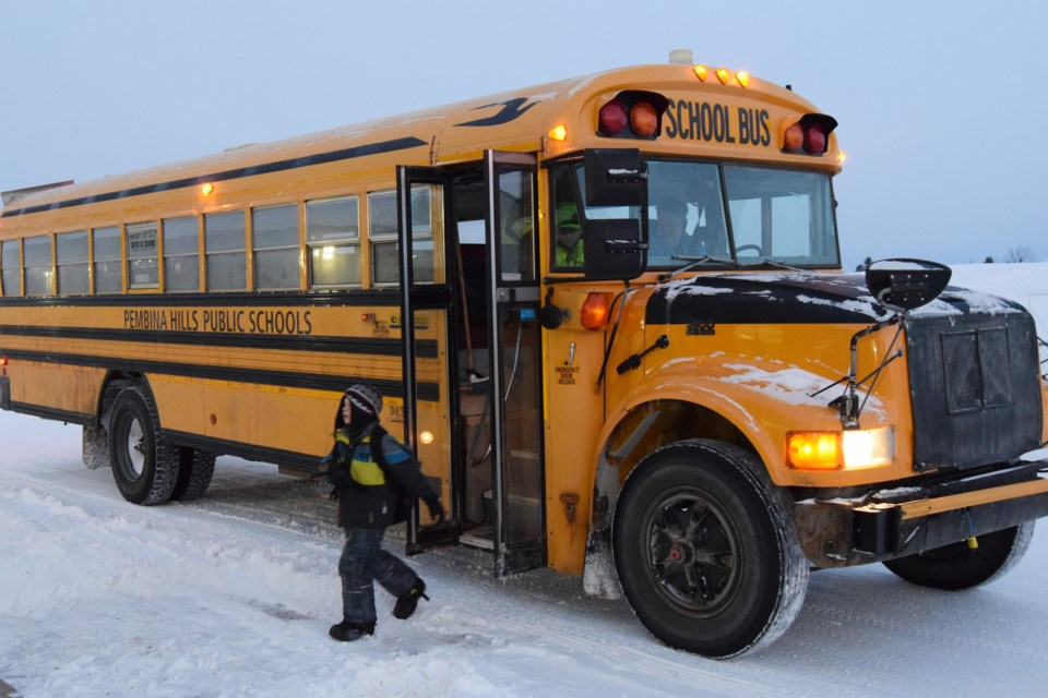 Pembina Hills Schoolbus