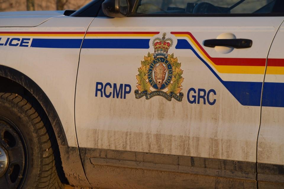 RCMP Logo Door