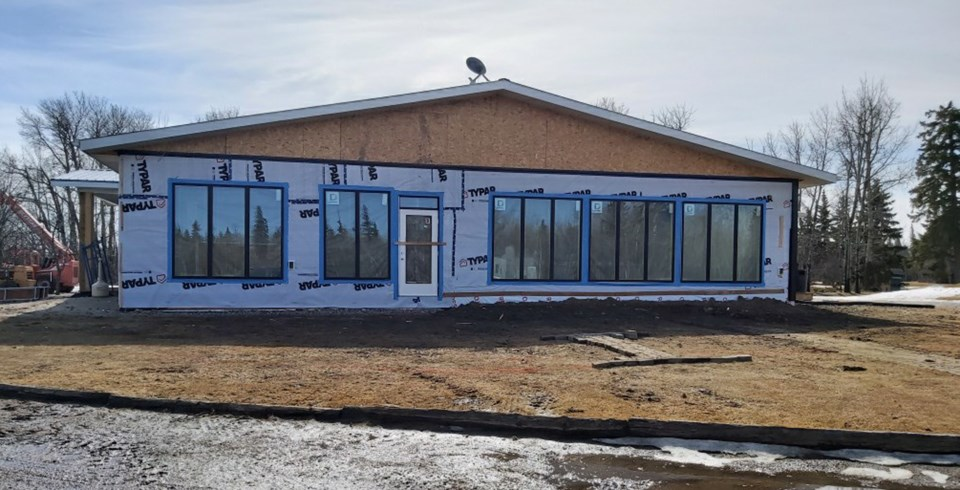 WES - New Westlock clubhouse