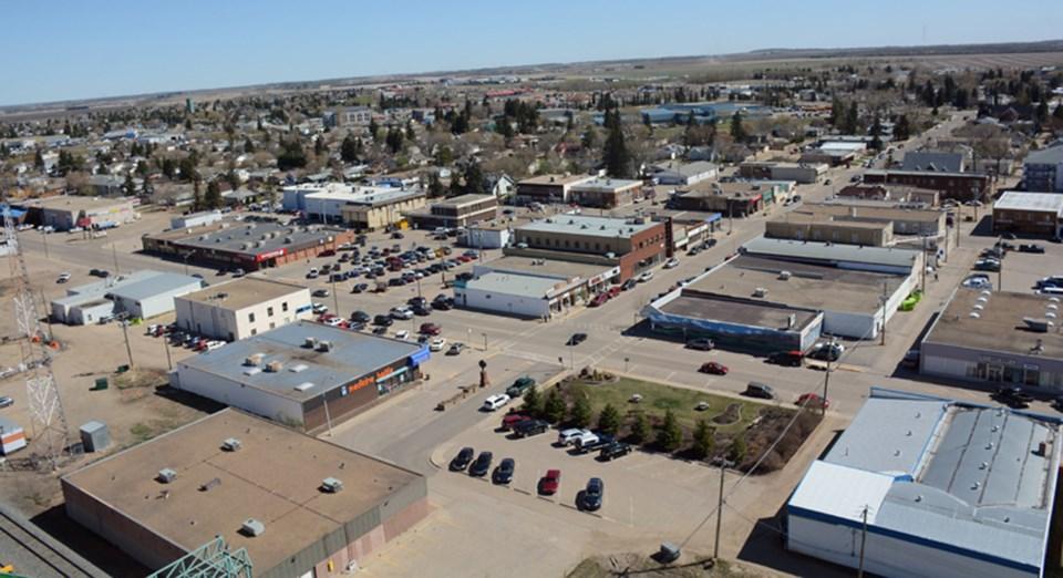 town of westlock aerial