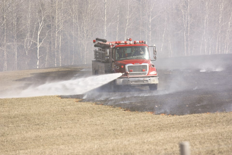 WES brush fire