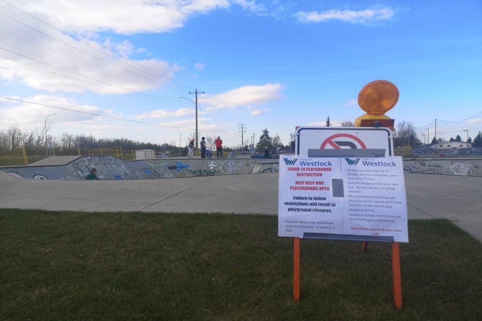 WES Skate park reopens
