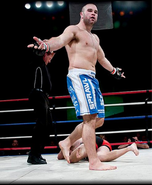 Tim 'The Thrashing Machine' Hague hopes to duplicate his Aggression MMA success on Jan. 22, 2011 against Mat Mitrione in his return UFC fight.