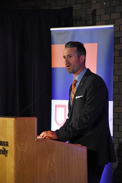 Athabasca U's new president, Neil Fassina, was chosen from 43 applications.