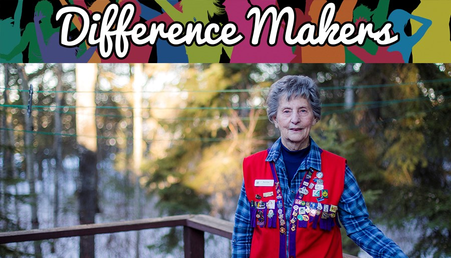 Rosie Guay, 87, has received the Lions' Certificate of Appreciation four times, one Certificate of Service in 2000 and was Lion of the Year in 1999. She was also