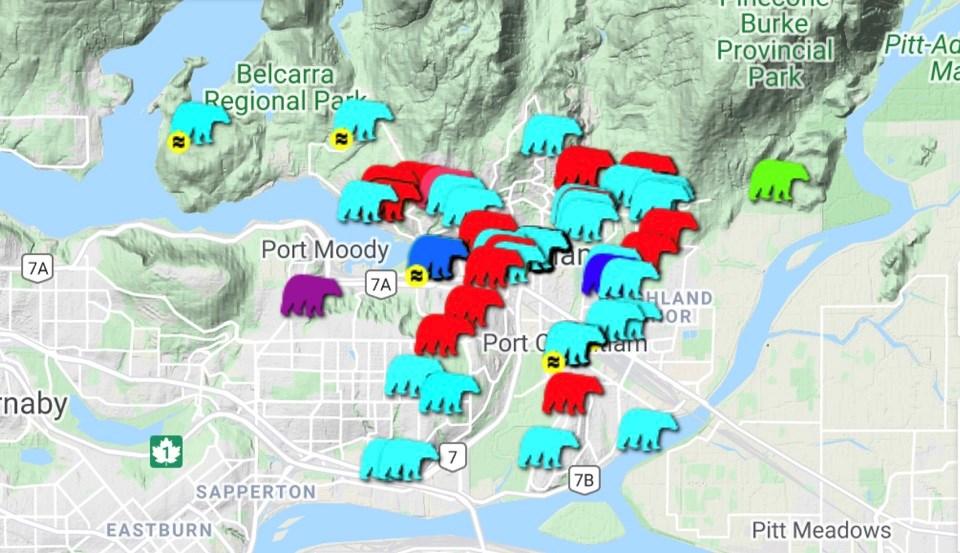Bear sightings - Tri-Cities May 28-June 4, 2021
