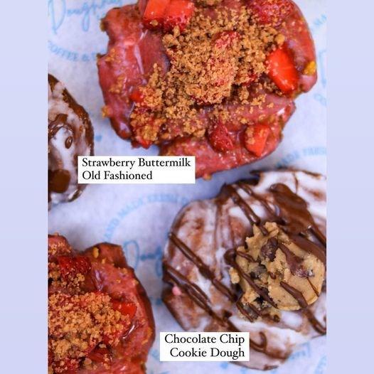 A sample of the treats at Doughnut Love.