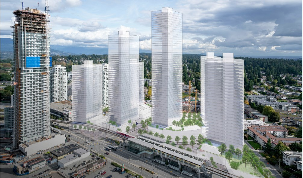 Burquitlam Plaza to be razed for 2,175 new homes, retail