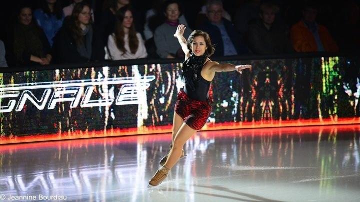 Hjørdis Lee in the show Art On Ice.