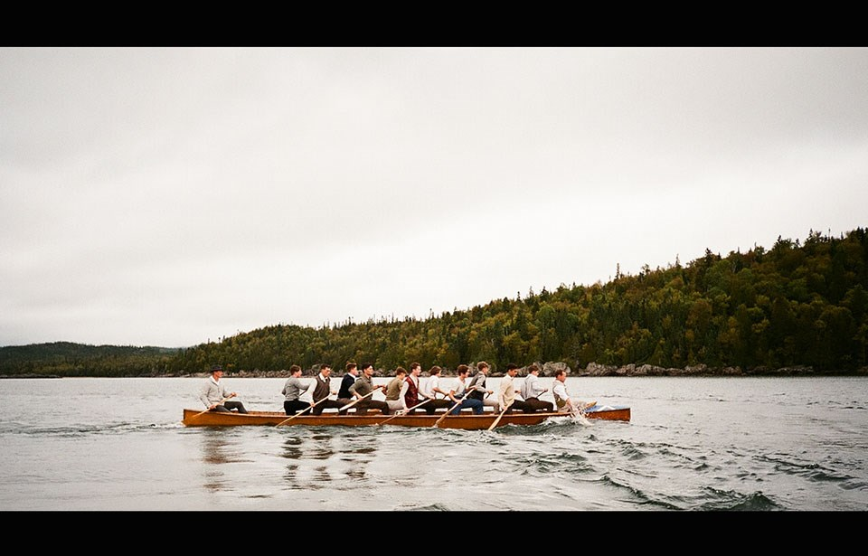 Brotherhood, directed by Port Coquitlam's Richard Bell, is based on the 1926 tragedy when 11 young boys died after a canoe capsized on an Ontario lake.