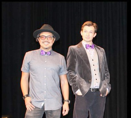 Roman Danylo (right) and Chris Casillan are back in Coquitlam for two comedy shows, on Aug. 6 and 7, at the Evergreen Cultural Centre.