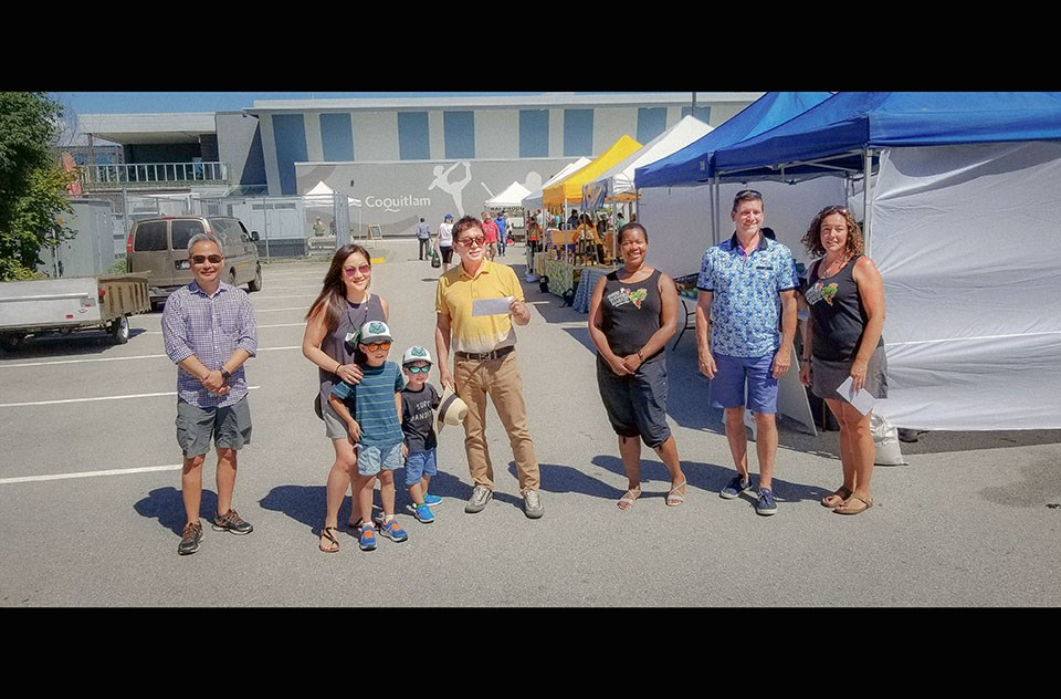 Coquitlam Farmers Market closer to replacing stolen van thanks to generous $12K donation