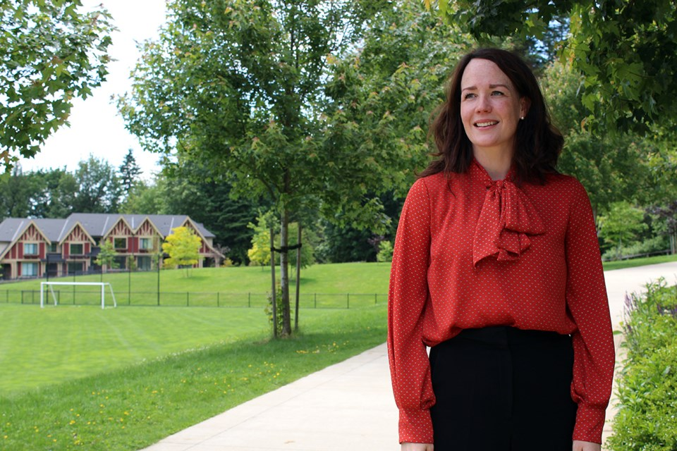 Coquitlam's community planning manager Genevieve Bucher is overseeing the proposed Hazel-Coy neighbourhood development.