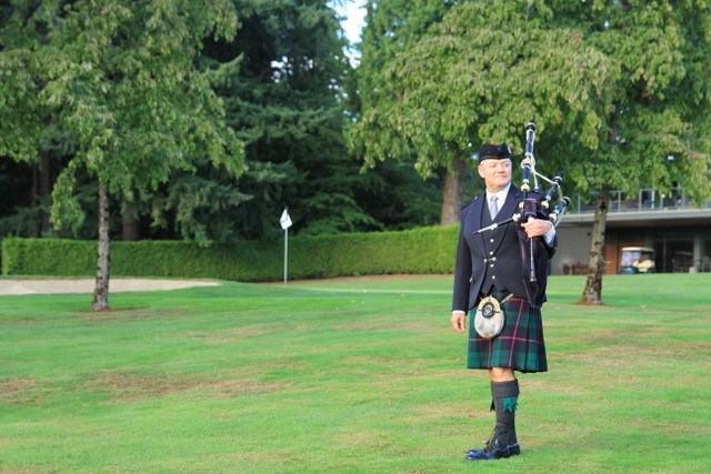Coquitlam piper Mike Chisholm, the executive director of ScotFestBC, is co-organizing a virtual Robbie Burns celebration with SFU on Jan. 23.
