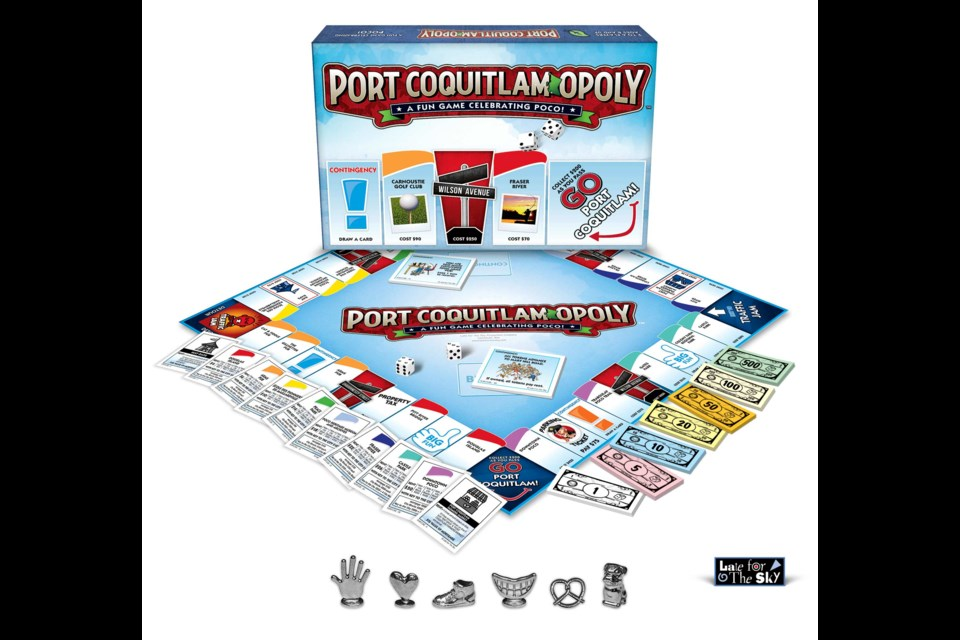 Port Coquitlam-Opoly comes out next week at Walmart.