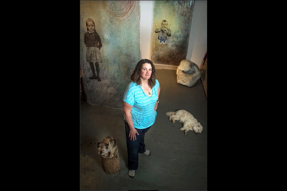 Sonya Iwasiuk, who works out of Parker Street Studios in Vancouver, has a new show at PoMoArts starting Jan. 14.