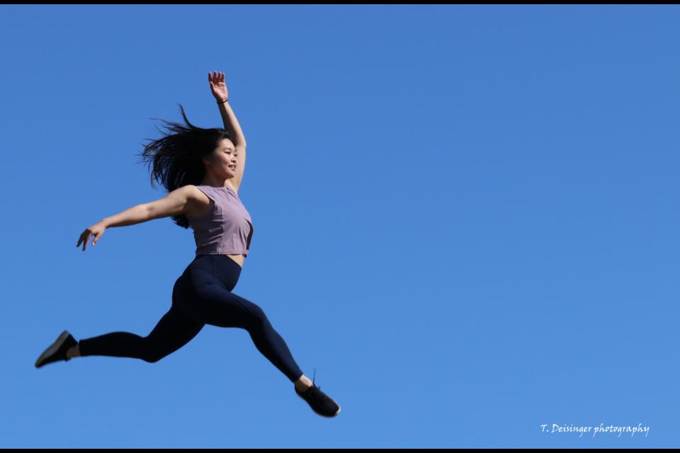 Tania Deisinger's Catching Air.