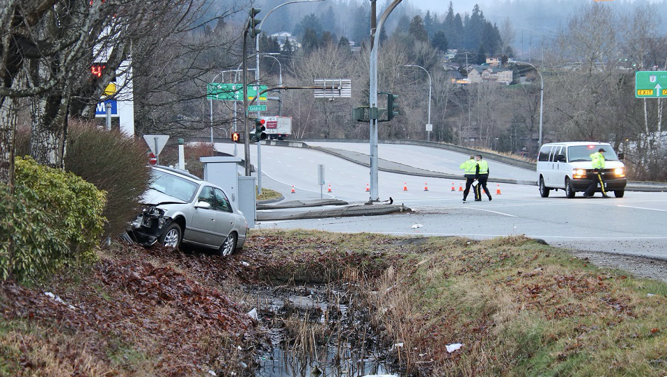 United Boulevard collision