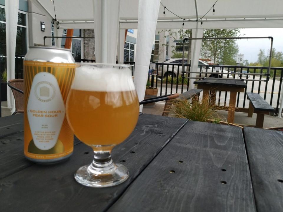 Tinhouse brewery patio