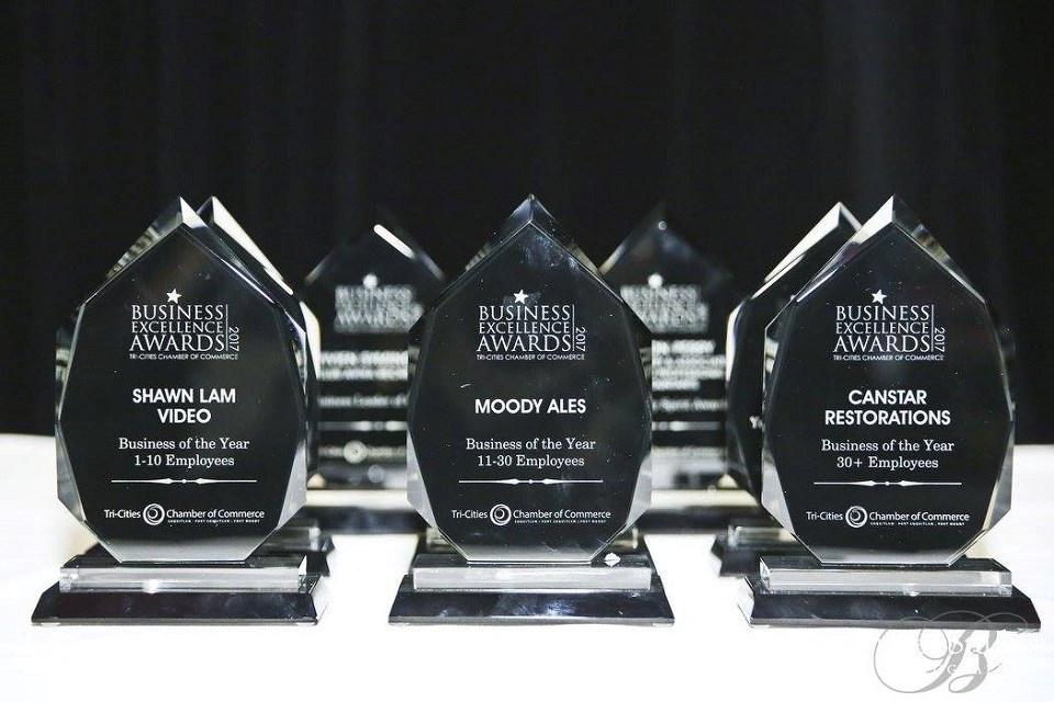 Tri-Cities Chamber of Commerce Business Excellence Awards 2