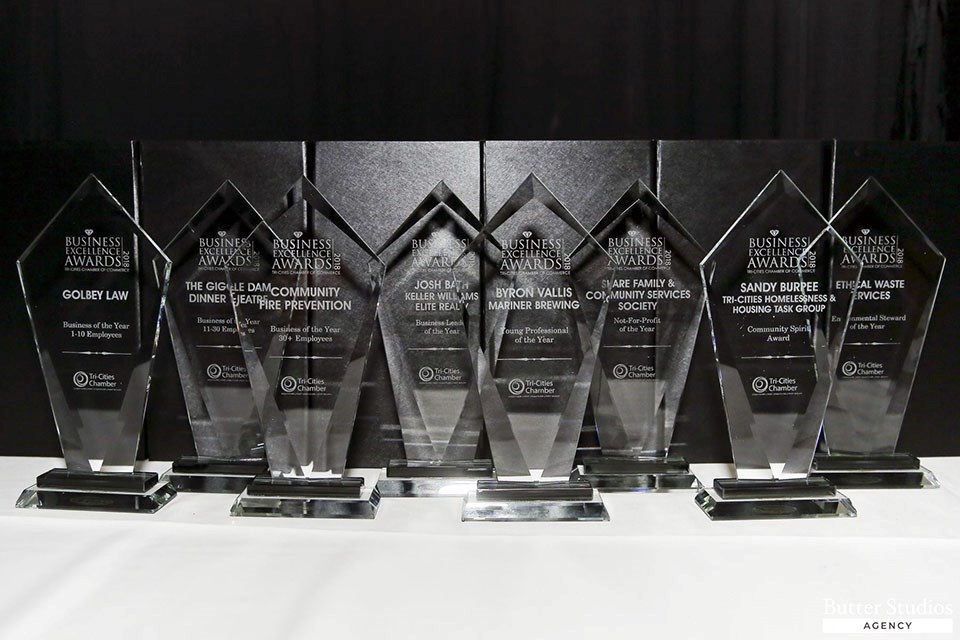 Tri-Cities Chamber of Commerce Business Excellence Awards