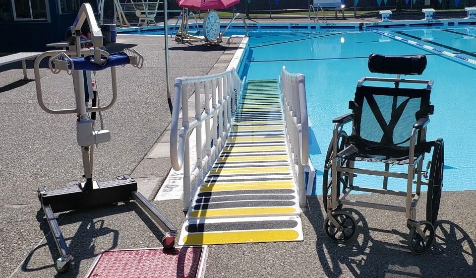 Eagle Ridge Outdoor Pool - Accessibility options June 9, 2021
