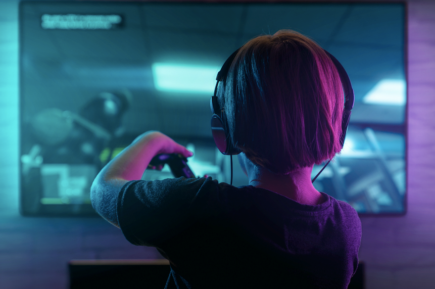 Children aged nine to 14 are at risk from being targeted by predators when using online video game chat functions. Parents are encouraged to take an active interest in their children's gaming and online activities.