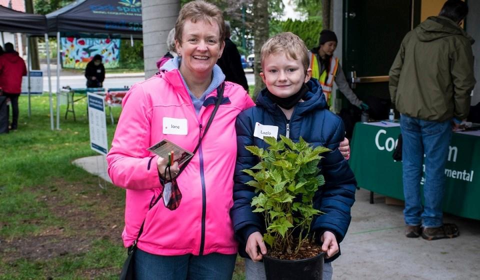 Coquitlam environmental leaders and volunteers - Oct. 12, 2021