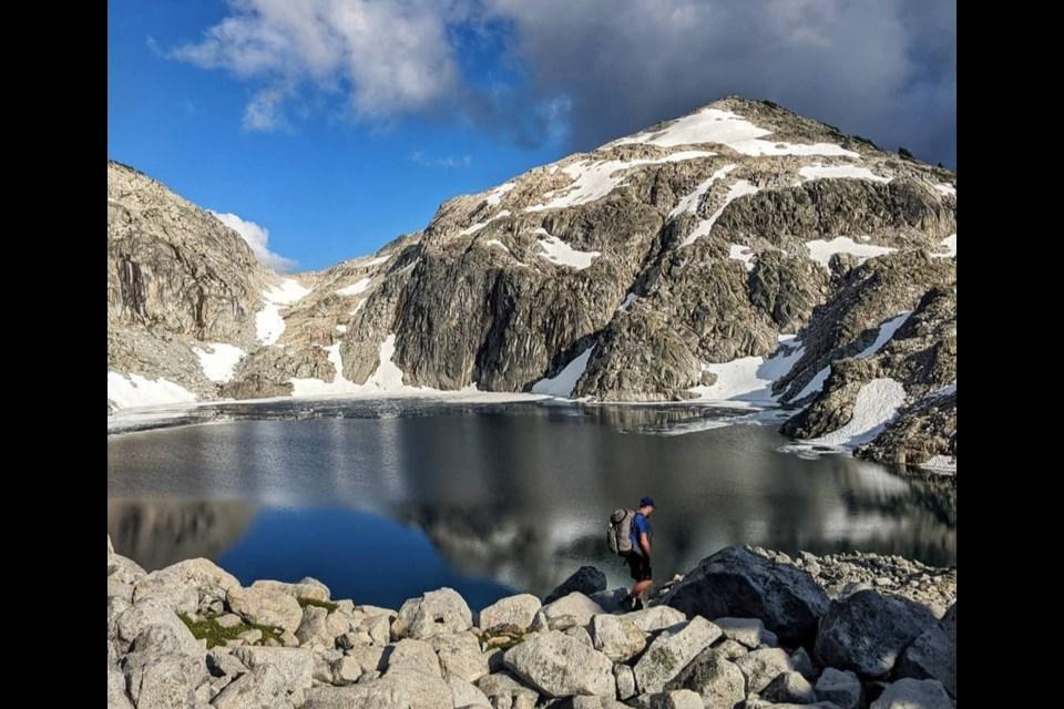 Hiking in Pinecone Burke Provincial Park - Photograph via Sanni Onnela