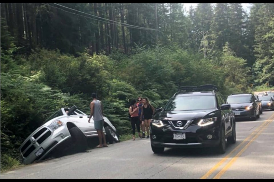 Parking along Bedwell Bay Road, near Sasamat Lake led the city of Port Moody and village of Belcarra to ban some roadside parking and in Belcarra's case, triple fines. Now Metro Vancouver's is looking for a more permanent solution