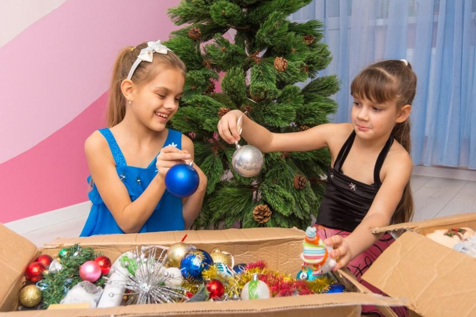 Christmas tree down Getty