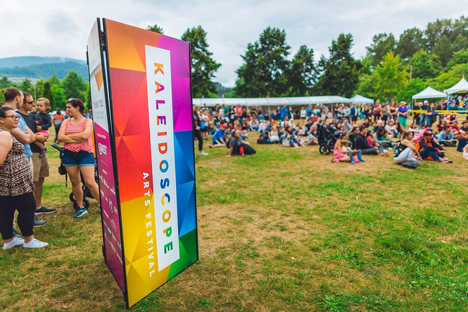 The 2018 Kaleidoscope Arts Festival at Town Centre Park in Coquitlam.
