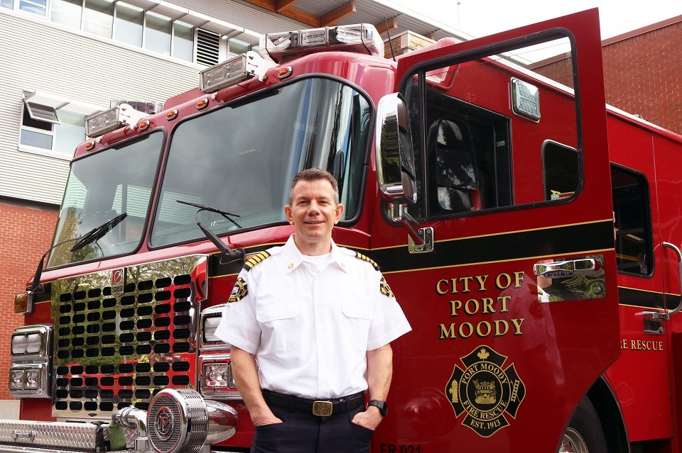 Darcey O'Riordan is the new chief of Port Moody Fire Rescue as of June 17, 2021.